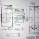 disegno tecnico e misure originali del nuovo iphone 5 di apple