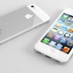 fronte e retro di come potrebbe essere il nuovo iphone 5 di apple che sta per uscire