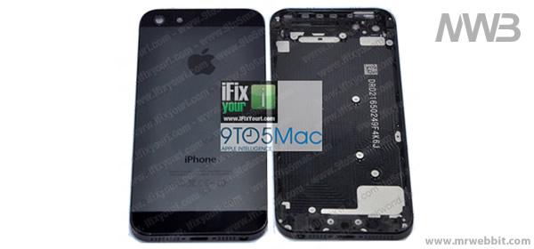 immagini della parte posteriore del nuovo iphone 5 di apple le prime immagini
