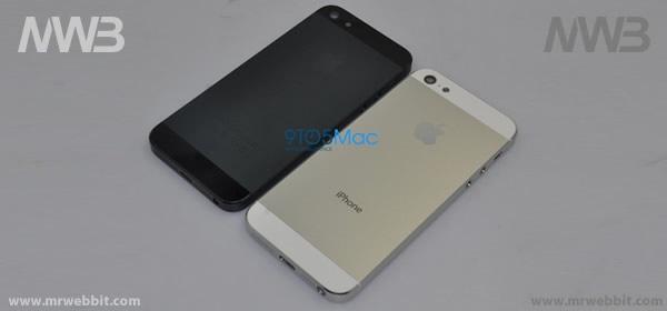 nuovi colori oltre il bianco e nero per il nuovi iphone 5 di apple