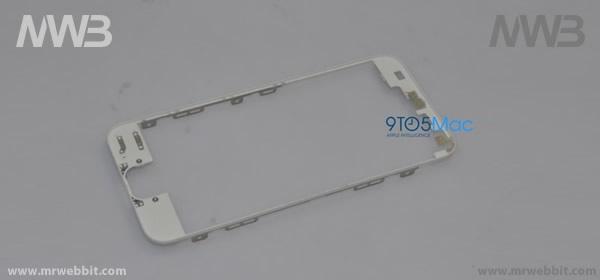 parte in alluminio che tiene il display del nuovo iphone 5