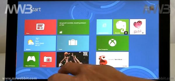 anteprima microsoft windows 8 su samsung e lenovo