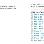 apple rilascia la verisone beta di ios 6 da scaricare gratuitamente