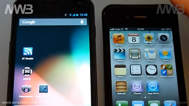 Differenze fra Android Jelly Bean 4.1.1 e iOS 6 Beta 2