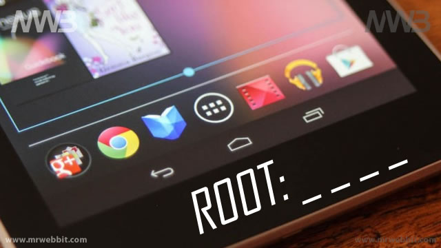 come impostare accesso root google nexus 7