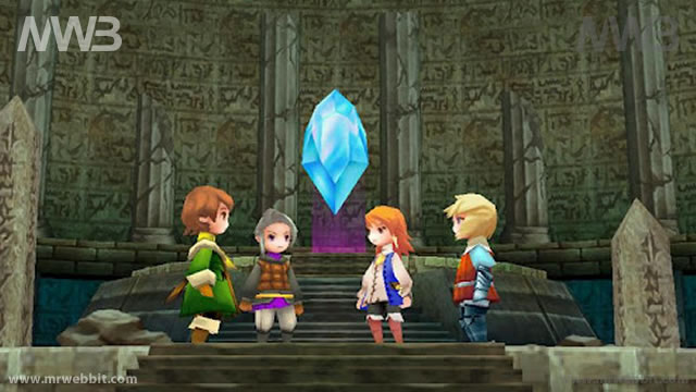 final fantasy 3 per android disponibile per il download le prime immagini