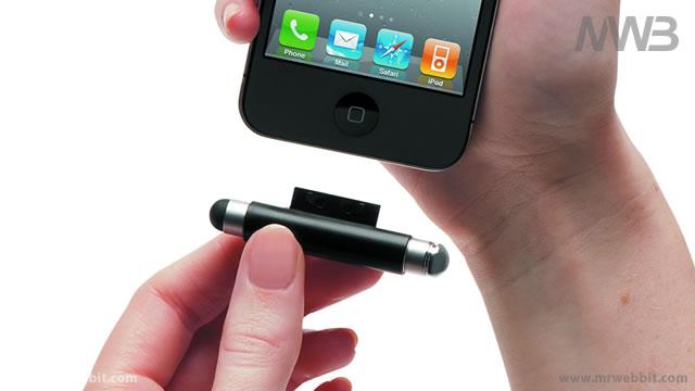 pennino richiudibile per prendere appunti su ipad e iphone agganciabile al telefono