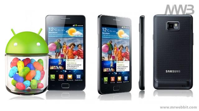 Samsung Galaxy S II si aggiorna a Jelly Bean 4.1 disponibile da scaricare