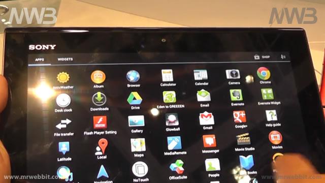 Anteprima Sony Xperia Tablet S presentato IFA 2012