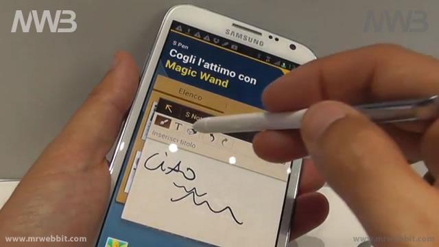 Nel dettaglio le funzioni di Samsung Galaxy Note 2  presentato IFA 2012