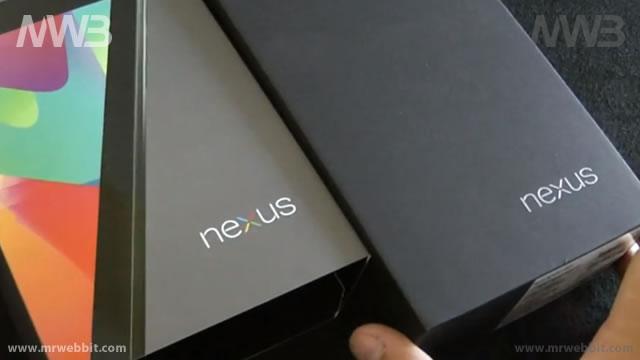 contenuto della scatola di google nexus 7 accessori e android 4