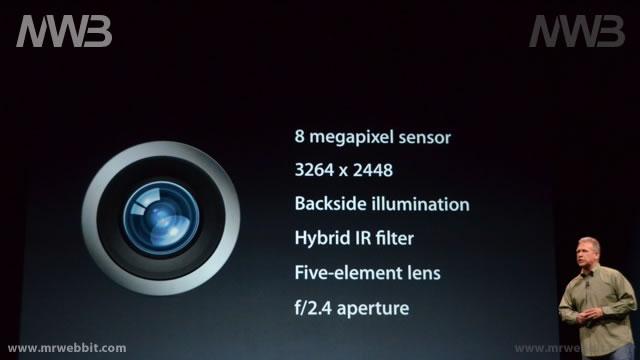 fotocamera 8mpx per il nuovo iphone 5