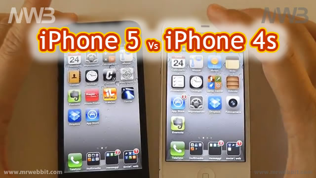 iphone 5 contro iphone 4s tutte le differenze vale la pena cambiarlo