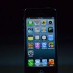 la prima immagine di iphone 5 ufficiale