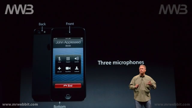 tre microfoni per iphone 5