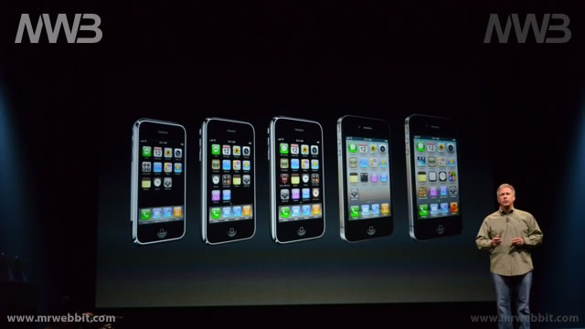 tutta la storia di iphone in una sola immagine