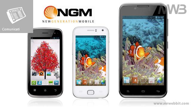Miracle Absolute e Wilco i tre nuovi smartphone Dual Core di NGM