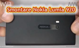 smontare nokia lumia 920 per cambiare il display e schermo prezzi