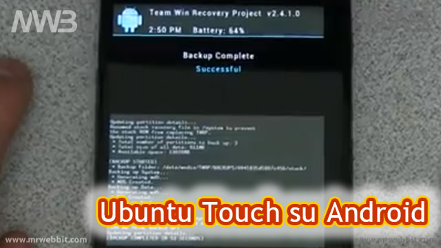 Come installare Ubuntu Touch su smartphone e Tablet Nexus