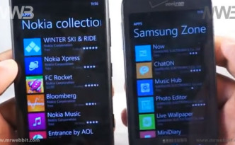 Differenze fra Nokia Lumia 820 e Samsung ATIV Odyssey