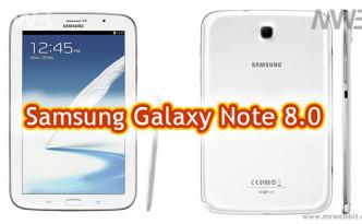 Samsung Galaxy Note 8.0 le prime immagini e caratteristiche