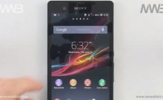Tutte le caratteristiche di Sony Xperia Z