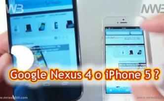 meglio Google Nexus 4 e iPhone 5 tutte le differenze
