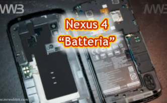 sostituire la batteria su lg nexus 4 senza romperlo