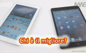 Meglio Samsung Galaxy Note 8.0 oppure Apple iPad mini