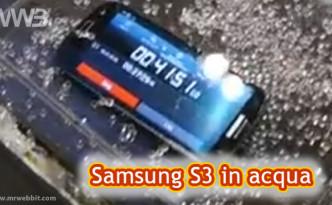 Proteggere Galaxy S3 dall'acqua con le nanotecnologie