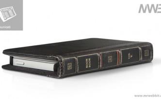 custodia iphone come se fosse un libro antico