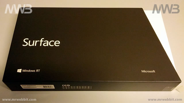 windows 8 surface 32Gb scatola frontale
