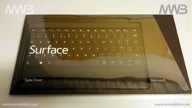 windows 8 surface 32Gb tastiera cover