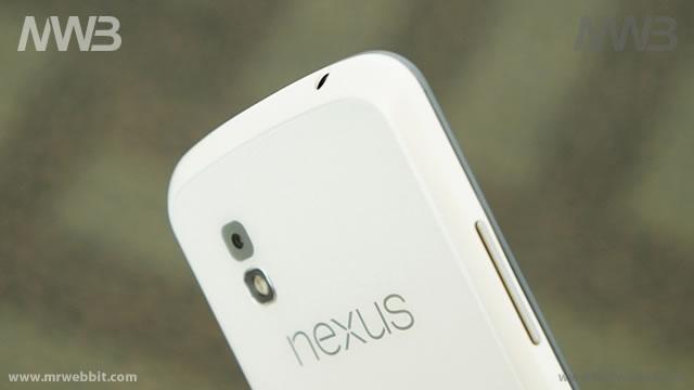 nexus 4 bianco da LG le prime immagini e video