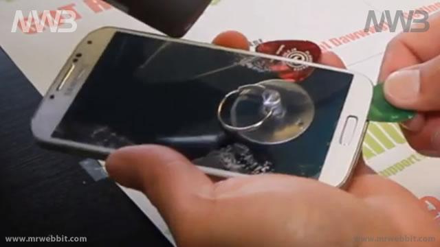 Come rimuovere il solo schermo da Samsung Galaxy S4