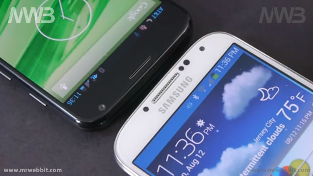 Motorola Moto X sfida Samsung Galaxy S4 le differenze