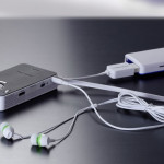 proiettore ultracompatto per musica video fotografie tablet