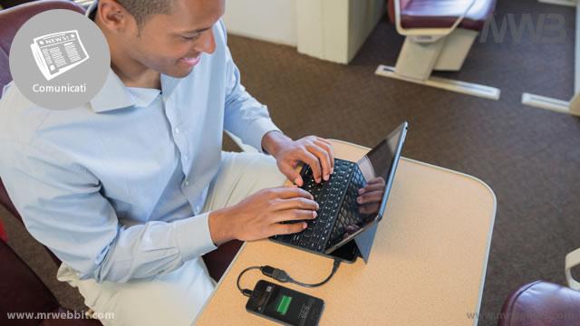 cover e tastiera per trasformare ipad in un notebook protetto