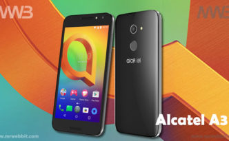 alcatel A3 specifiche tecniche