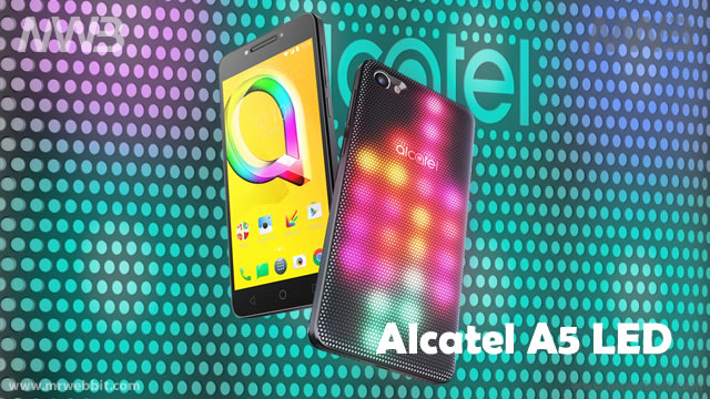 alcatel A5 LED smartphone con led luminosi