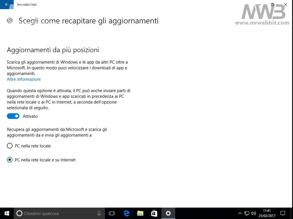 Windows 10 connessione internet lenta la fotoguida - Windows 10 internet lento