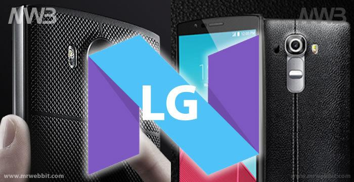 aggiornamento lg android 7